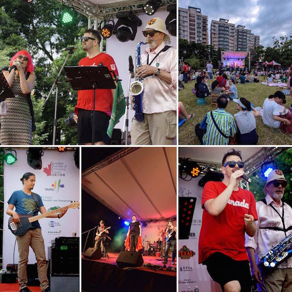 Celebration Canada 2016 Bands